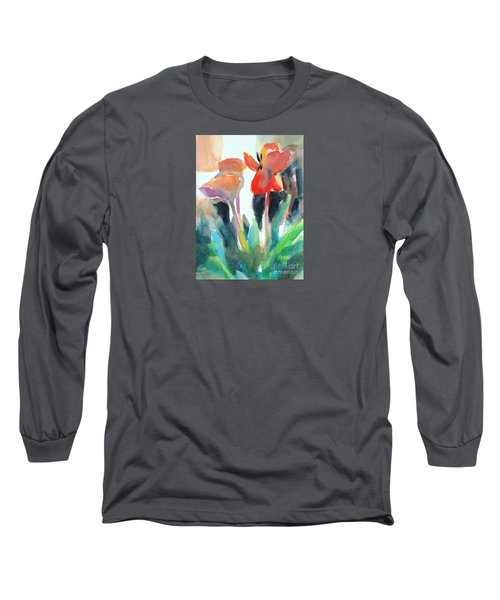 Tulips Together Long Sleeve T-Shirt by Kathy Braud