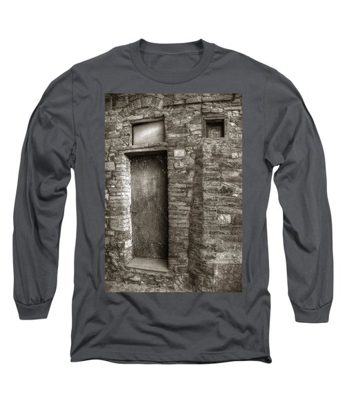 Tuscan Doorway Long Sleeve T-Shirt