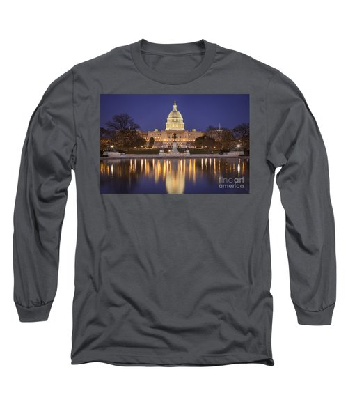 Twilight At Us Capitol Long Sleeve T-Shirt