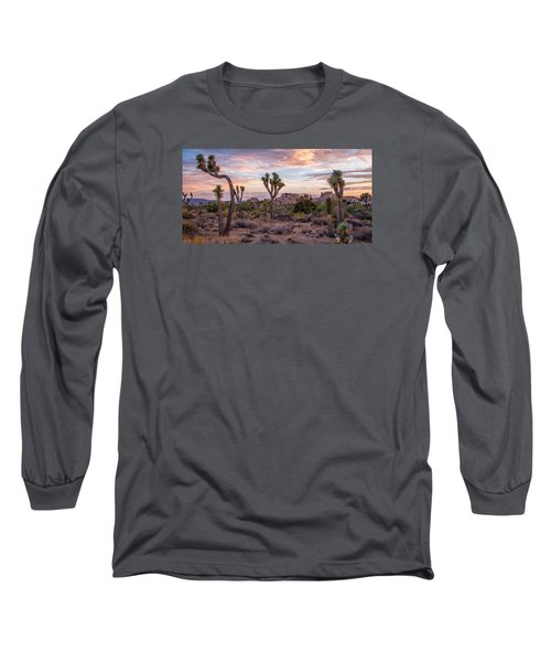 Twilight Comes To Joshua Tree Long Sleeve T-Shirt