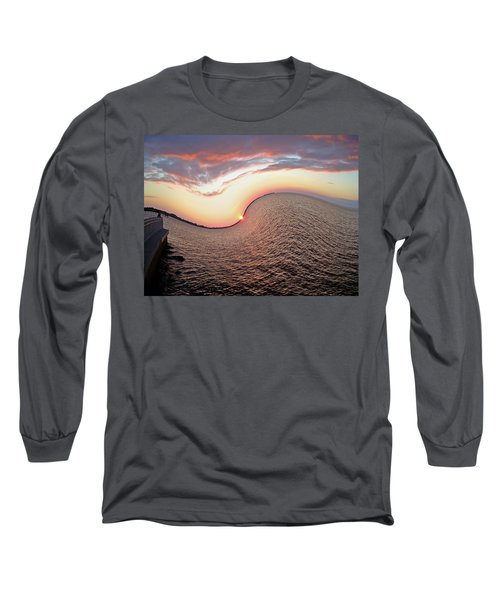 Long Sleeve T-Shirt featuring the photograph Twisted Sunset by Aimee L Maher Photography and Art Visit ALMGallerydotcom