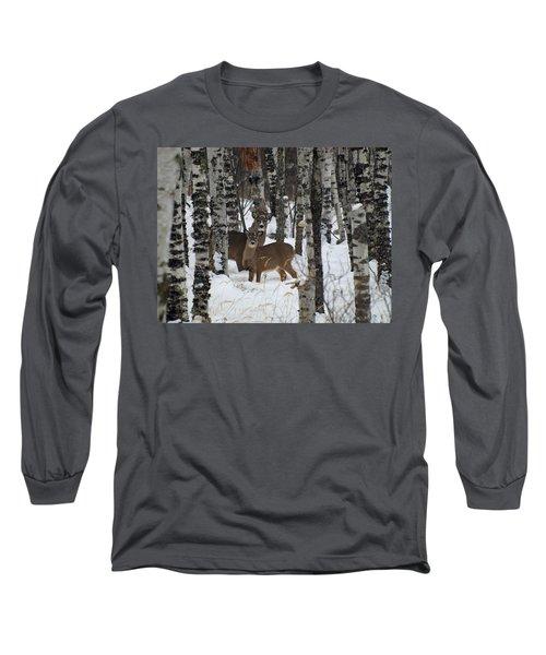 Two Are Better Than One Long Sleeve T-Shirt by James Peterson