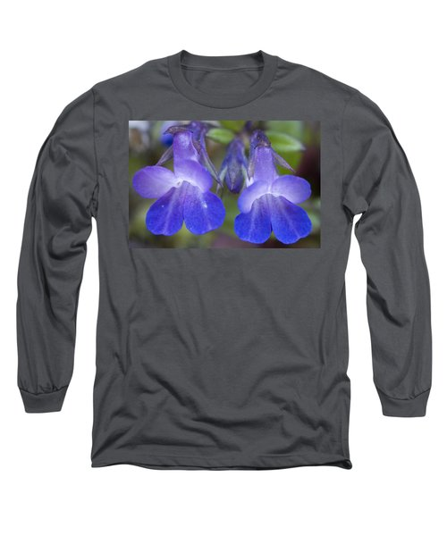 Long Sleeve T-Shirt featuring the photograph Two Blue by Sonya Lang
