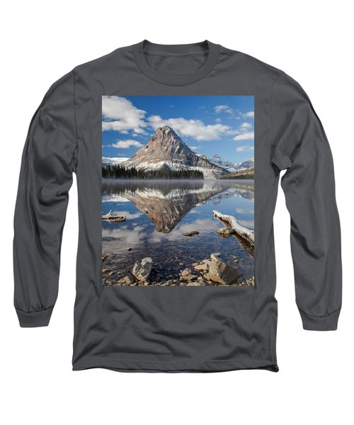 Long Sleeve T-Shirt featuring the photograph Two Medicine Morning by Jack Bell