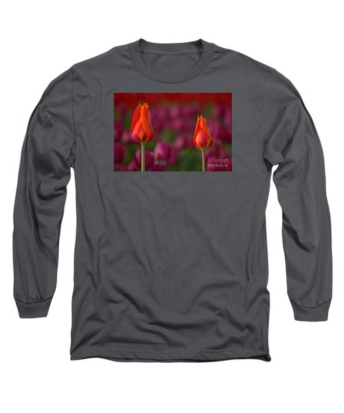 Long Sleeve T-Shirt featuring the photograph Two Of A Kind by Nick  Boren
