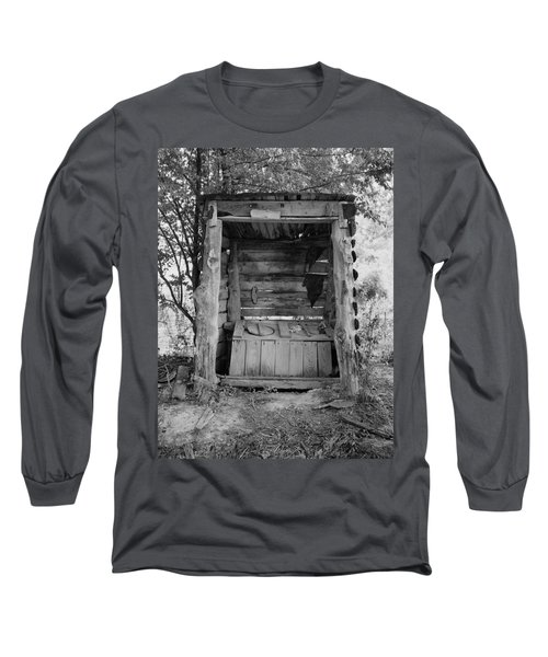 Two-seater Outhouse Long Sleeve T-Shirt