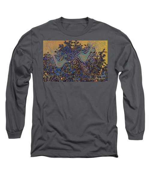 Two Turtle Doves In A Pear Tree Long Sleeve T-Shirt