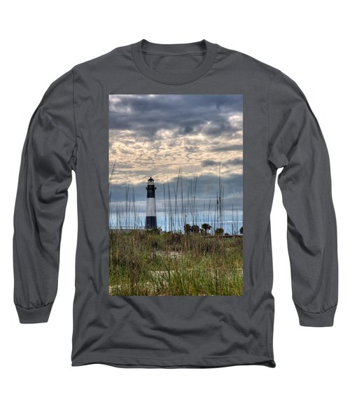 Tybee Light Long Sleeve T-Shirt by Peter Tellone