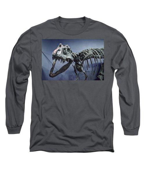 Tyrannosaurus Jane Long Sleeve T-Shirt