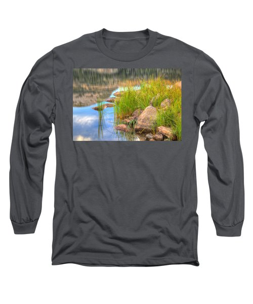 Uinta Reflections Long Sleeve T-Shirt by Dustin  LeFevre