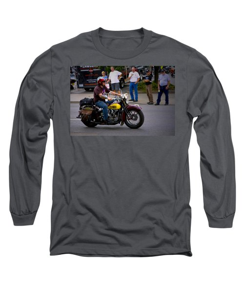 Un-named Crosscountry Harley Long Sleeve T-Shirt