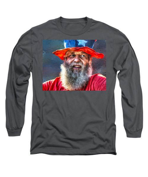 Uncle Sam Long Sleeve T-Shirt