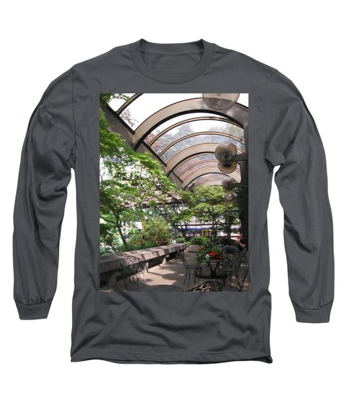 Under The Dome Long Sleeve T-Shirt by David Trotter