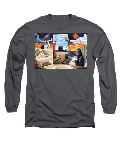 Long Sleeve T-Shirt featuring the digital art Understanding Everything Full by Ryan Demaree