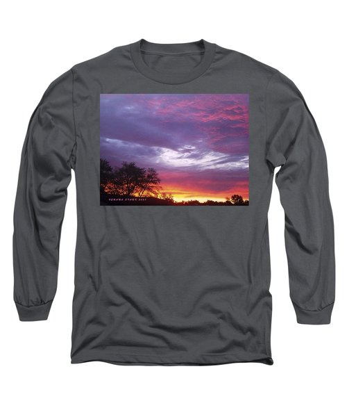 Unforgettable Majestic Beauty Long Sleeve T-Shirt by Verana Stark
