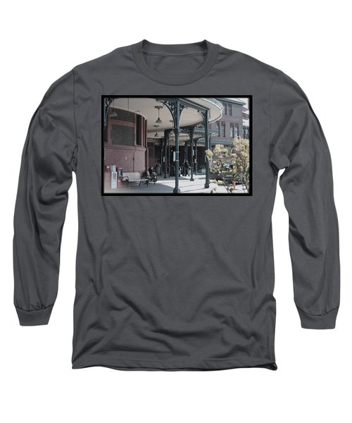 Long Sleeve T-Shirt featuring the photograph Union Street Station by Patricia Babbitt
