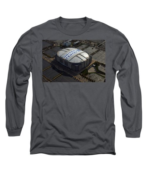 United Center Chicago Sports 09 Long Sleeve T-Shirt by Thomas Woolworth