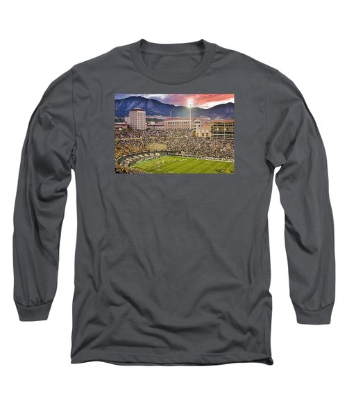 University Of Colorado Boulder Go Buffs Long Sleeve T-Shirt by James BO  Insogna