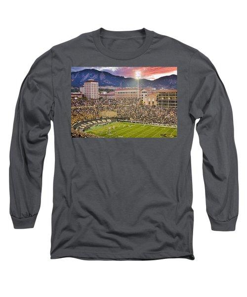 University Of Colorado Boulder Go Buffs Long Sleeve T-Shirt