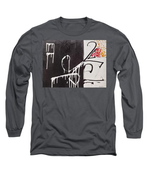 Untitled # 1 Long Sleeve T-Shirt by Jason Williamson
