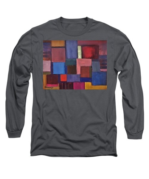 Untitled #7 Long Sleeve T-Shirt by Jason Williamson