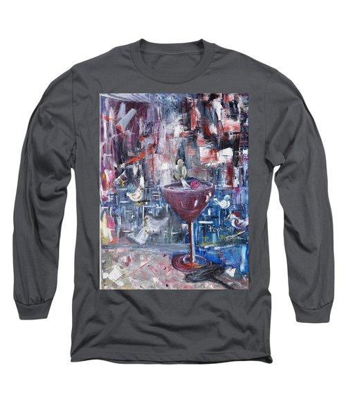 Untitled Long Sleeve T-Shirt by Evelina Popilian