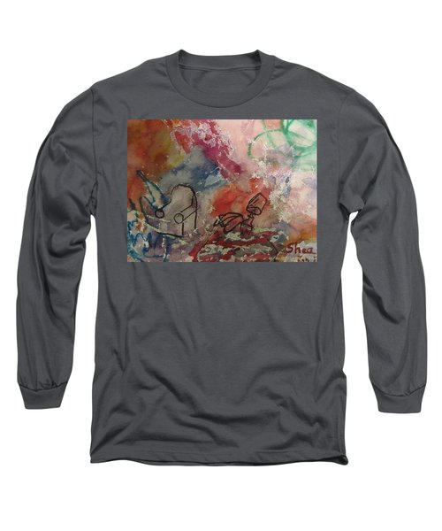 Untitled Watercolor 1998 Long Sleeve T-Shirt