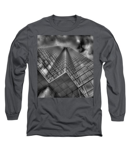 Up 3 Long Sleeve T-Shirt by Mark Alder