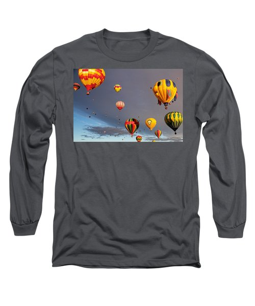 Up And Away Long Sleeve T-Shirt by Dave Files