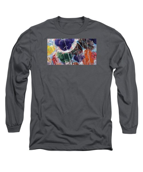 Long Sleeve T-Shirt featuring the painting Up At Walt's Place by Jeffrey S Perrine