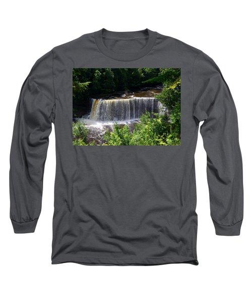 Upper Tahquamenon Falls Long Sleeve T-Shirt