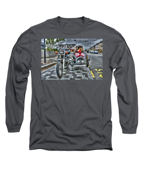 Ural Wolf 750 And Sidecar Long Sleeve T-Shirt