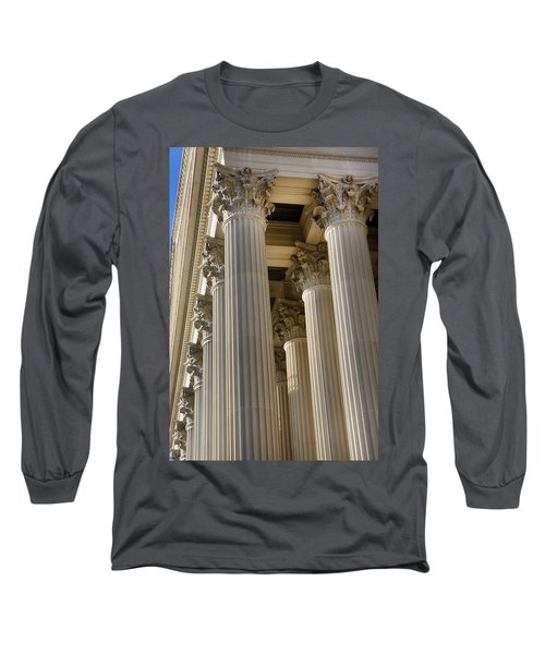 Us Archive Columns Long Sleeve T-Shirt