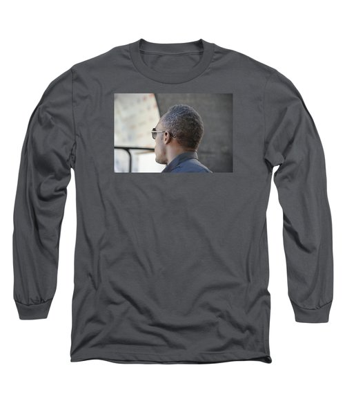 Long Sleeve T-Shirt featuring the photograph Usain Bolt - The Legend 2 by Teo SITCHET-KANDA