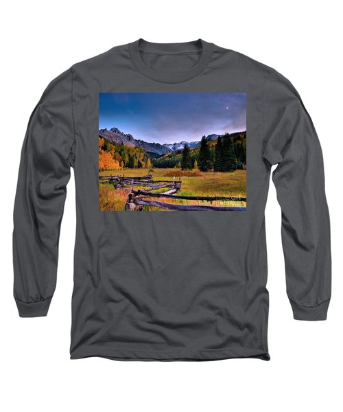 Valley Of Mt Sneffels Long Sleeve T-Shirt