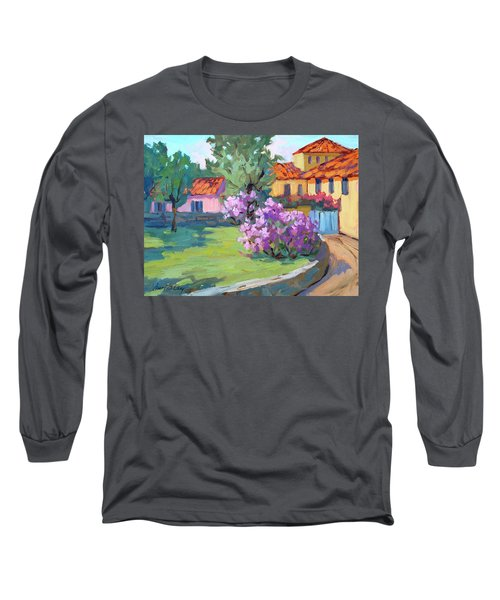 Van Gogh Hospital St. Remy Long Sleeve T-Shirt