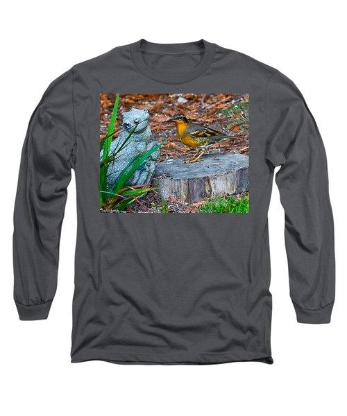 Vared Thursh Long Sleeve T-Shirt by Brian Williamson