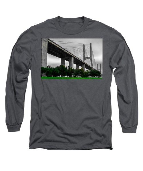 Vasco Da Gama Bridge II Long Sleeve T-Shirt
