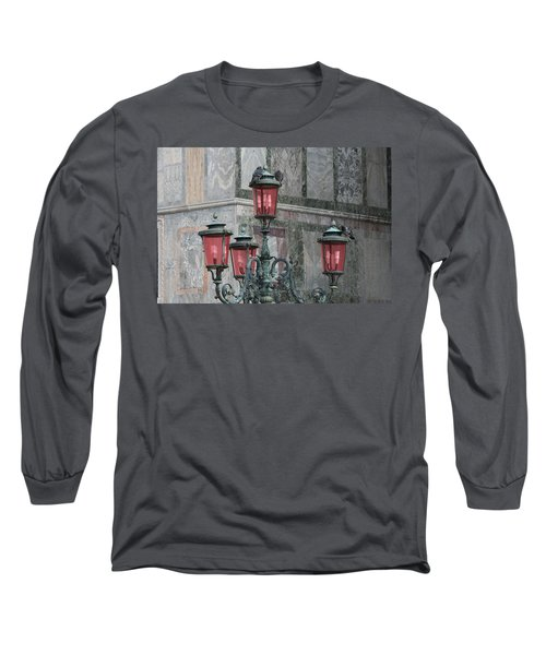 Venice Lights By Day Long Sleeve T-Shirt