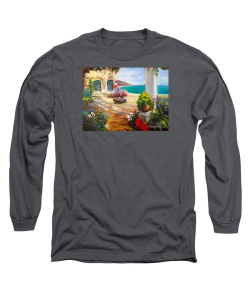 Venice Villa Long Sleeve T-Shirt by Jenny Lee