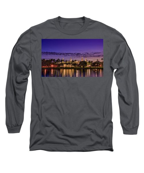 Venus Over The Minarets Long Sleeve T-Shirt by Marvin Spates