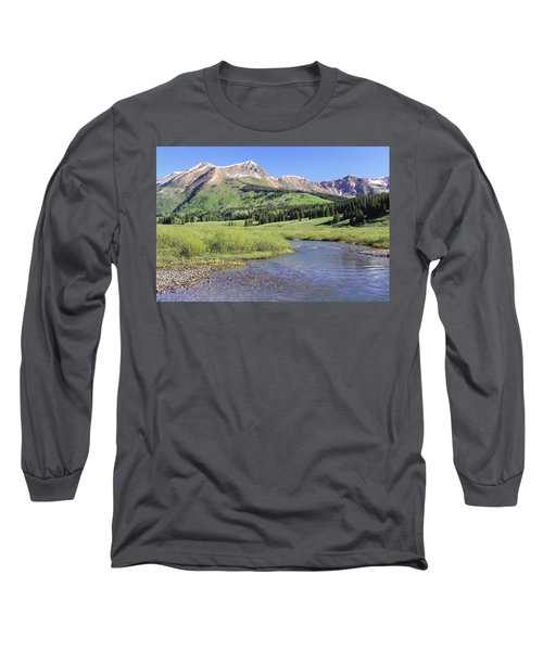 Verdant Valley Long Sleeve T-Shirt by Eric Glaser