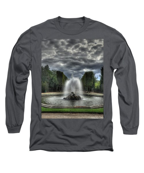 Versailles Fountain Long Sleeve T-Shirt