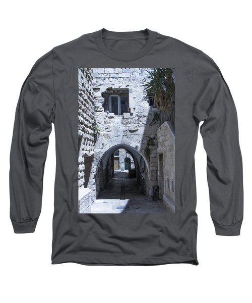 Very Old City Architecture No 1 Long Sleeve T-Shirt