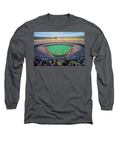 Veterans Stadium During Major League Long Sleeve T-Shirt
