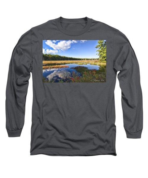 Vibrant Fall Scene Long Sleeve T-Shirt