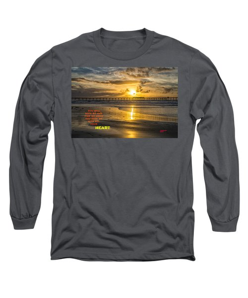 Vibrant Sunset Long Sleeve T-Shirt
