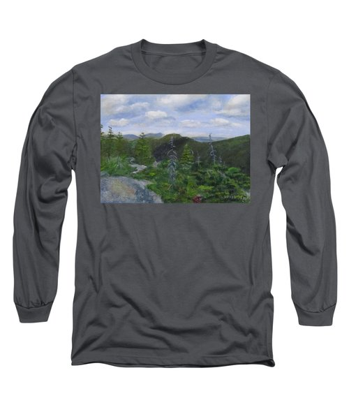 View From Noon Peak Long Sleeve T-Shirt