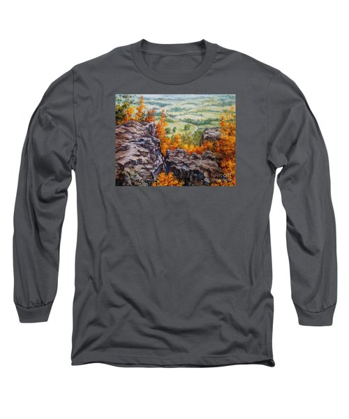 View From The Point Petit Jean Long Sleeve T-Shirt