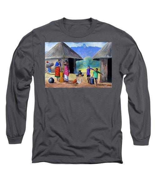 Village Chores Long Sleeve T-Shirt